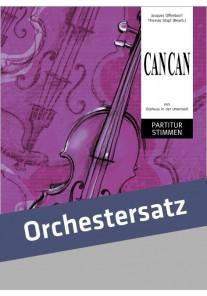 Cancan Orchestersatz
